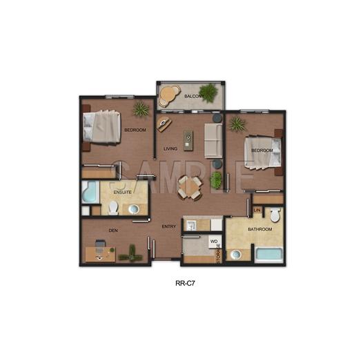 2d apartment floor plan desgin rendering model rendering for 12th floor apartments odessa